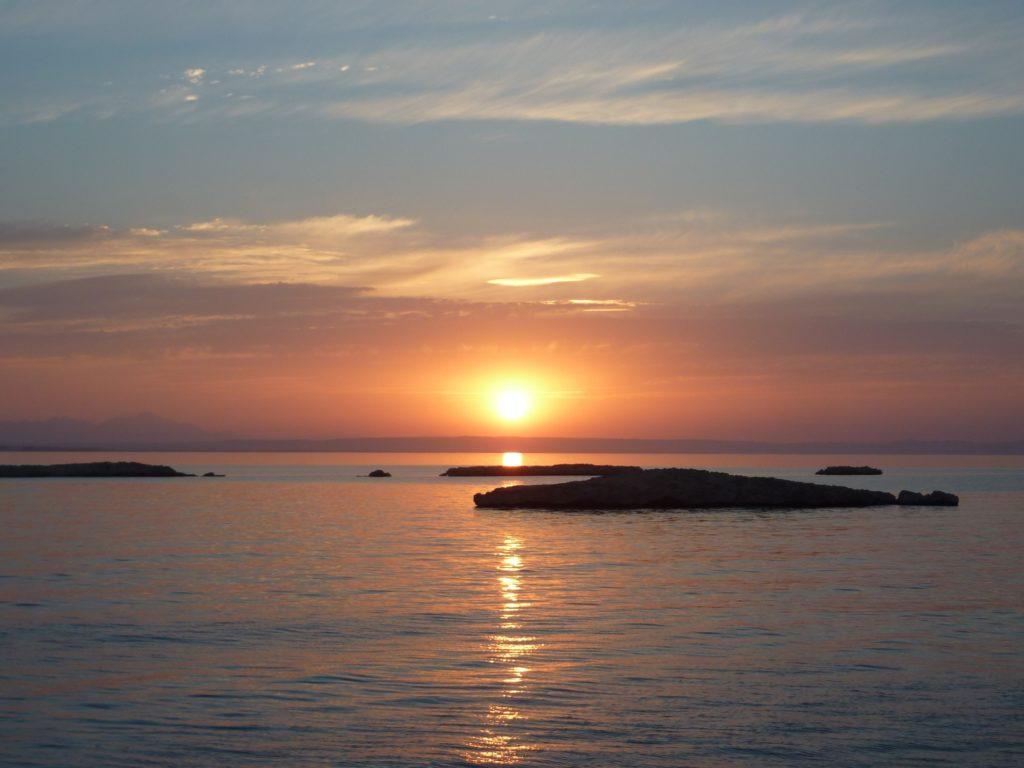 Rotes Meer Sonnenaufgang