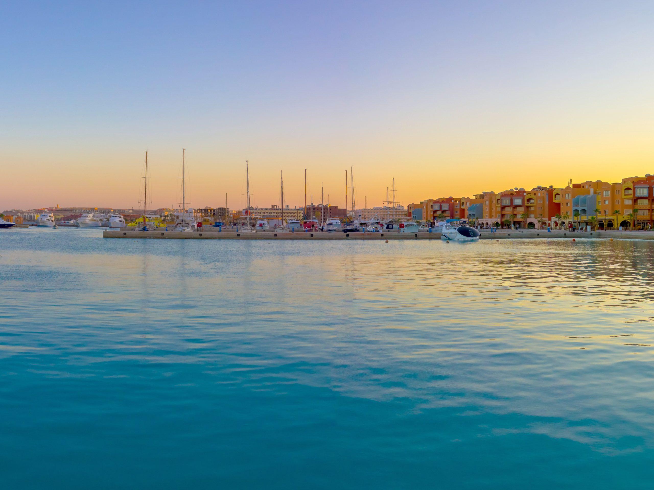 sunset marina hurghada