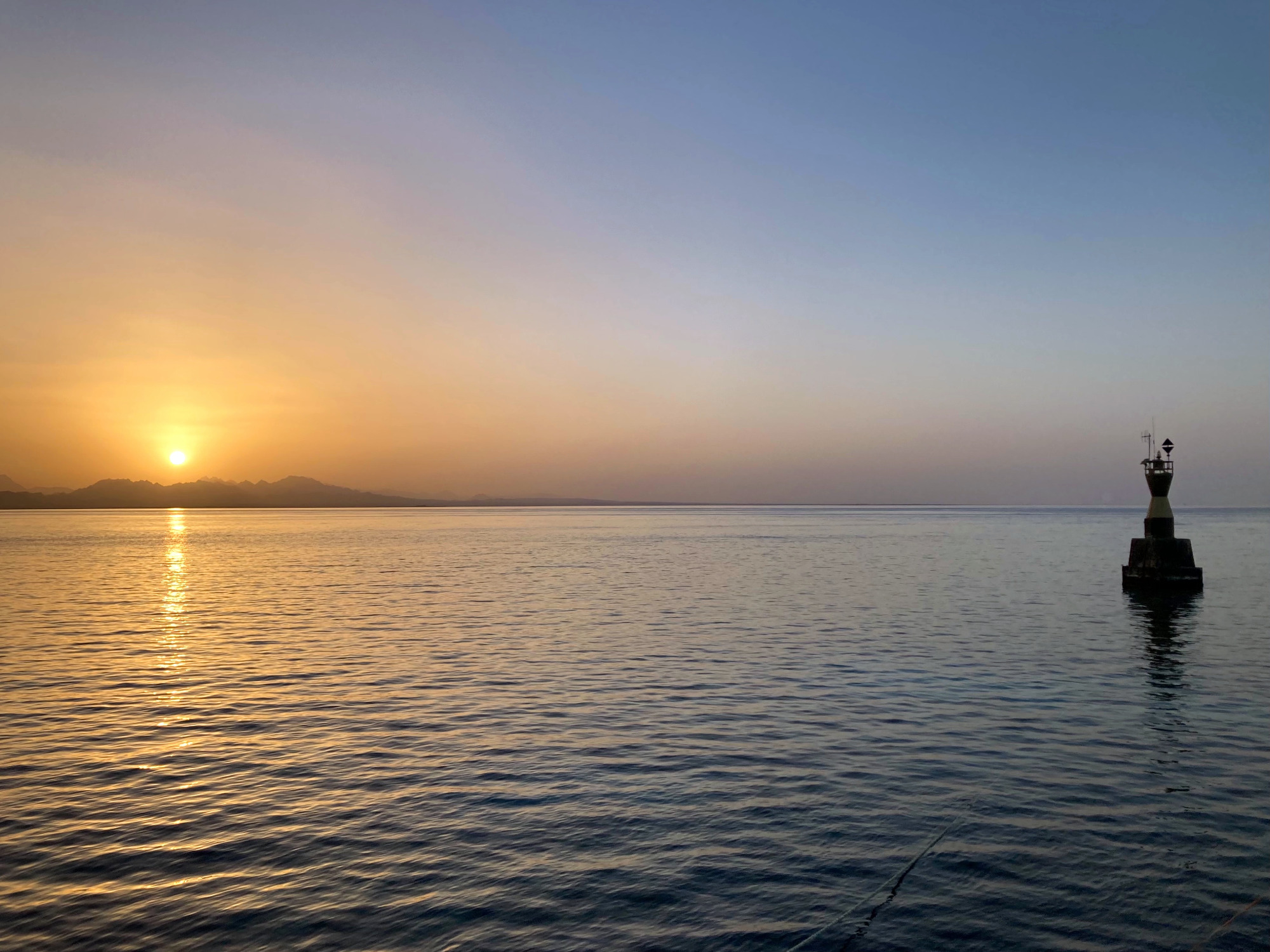 Sonnenaufgang Hurghada