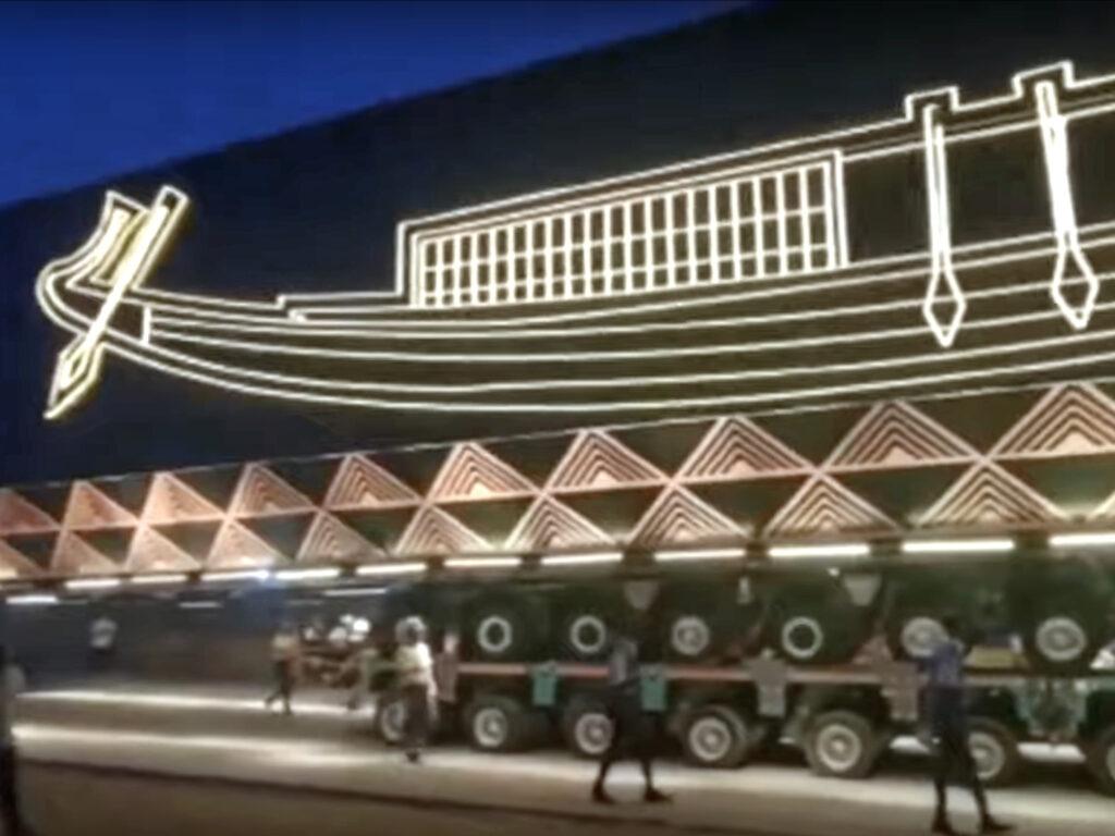 Transport Solarboot